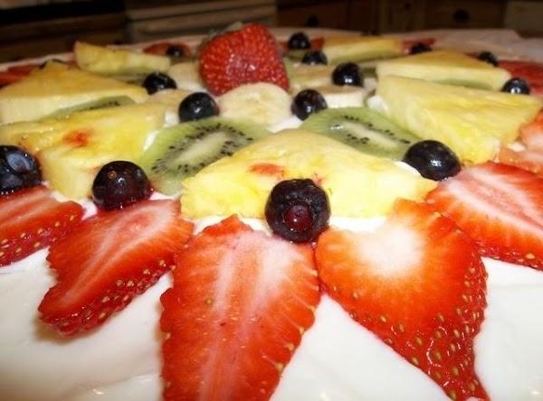 Frozen Fruit Pizza Recipe
