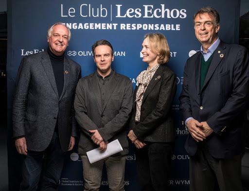 Club Les Echos Engagement Responsable avec Paul Polman - David Barroux