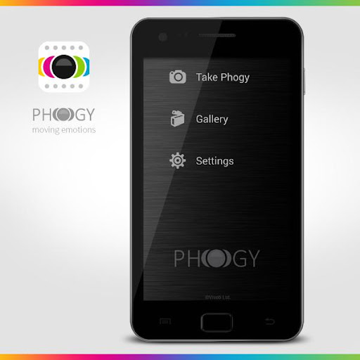 Phogy, 3D Camera screenshot 1