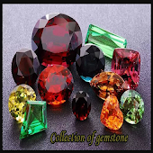 Collection of gemstone