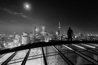 Photo: Man Crush +Brian Day. That is all.  ISO: 200 Shutter: 20 seconds Aperture: F/11 Camera: Canon 5D MK II Lens: Canon 17-40mm F/4 L  #rooftopping #urbex #blackandwhite #portrait