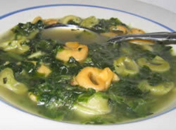 Tortellini & Spinach Soup Recipe
