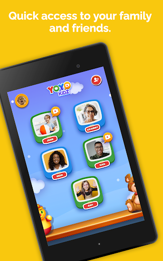 YoYo Kidz - Easy and Safe Video Messaging for Kids screenshot 9