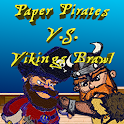 Paper Pirates vs Vikings Brawl icon
