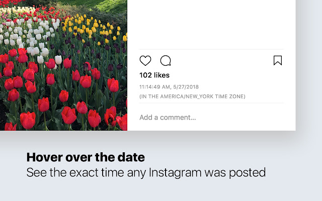 Exact Time Viewer for Instagram