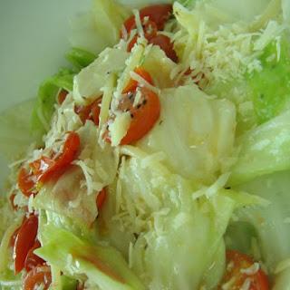 Cabbage&Petite Tomato Pasta