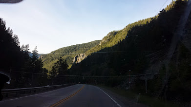 Photo: North/West road leading into Yellowstone