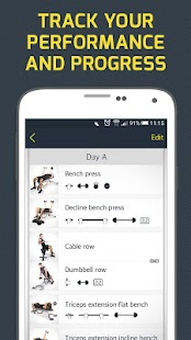 Gym Workout Tracker & Trainer- screenshot thumbnail