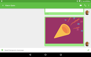 Screenshot of Stickers & Draw for Hangouts