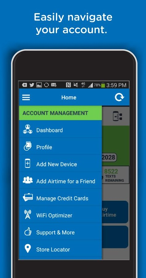 TracFone My Account- screenshot