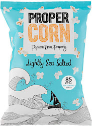 Propercorn Popcorn - Lightly Sea Salted, 70g
