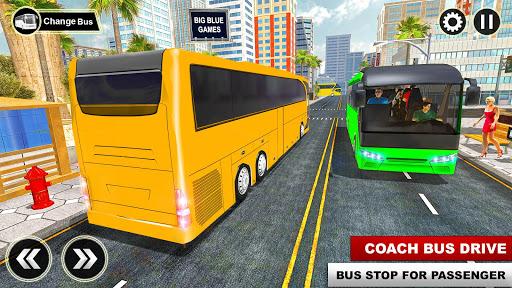 City Passenger Coach Bus Simulator: Bus Driving 3D apkpoly screenshots 12
