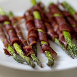 Turkey Bacon Wrapped Asparagus Recipe