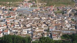 Vista aérea del municipio de Chirivel.