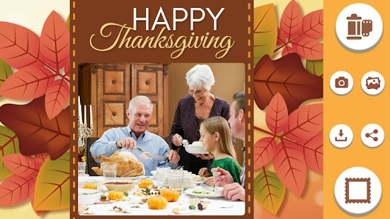 Thanksgiving Photo Frames – Holiday Photo Editor - náhled
