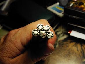 Photo: Mosaikpins eigene Herstellung 8mm