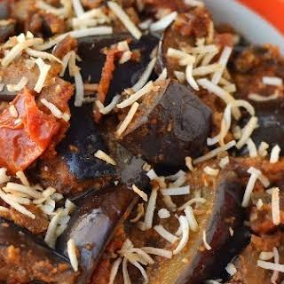 Eggplant Coconut Masala Curry.