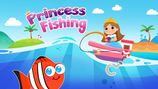 Princess Fishing Game 1.0 screenshots 1