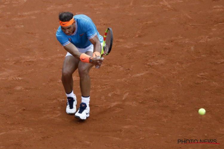 Nummer vijf van de wereld neemt Rafael Nadal te grazen, ook verrassende finale in Stuttgart na forfait Osaka