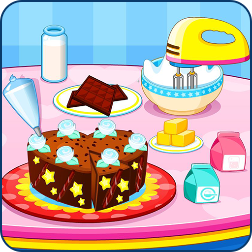 Cooking chocolate cake 休閒 LOGO-玩APPs