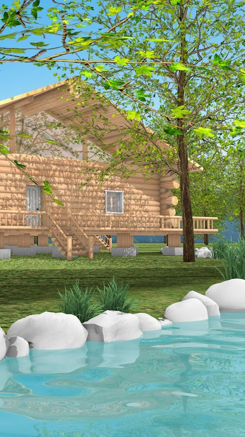 Escape Game: Log House- screenshot