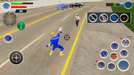 Rope Hero Crime Simulator – Miami Crime City Games download 1