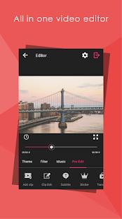 محرر الفيديو المميز VideoShow Pro - Video Editor 5.1.5