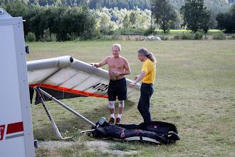 Photo: Единственный норвежский жесткокрыльщик встретился с единственным русским