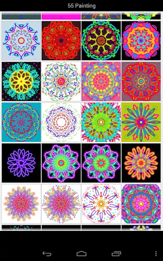 Paint magic kaleidoscope free