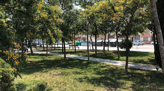 El Parque de La Mojonera en el que se desarrolló la construcción.