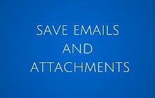 Save Emails and Attachments - Google Sheets add-on