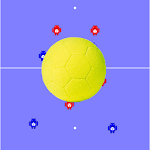 Tactic Board Futsal Icon