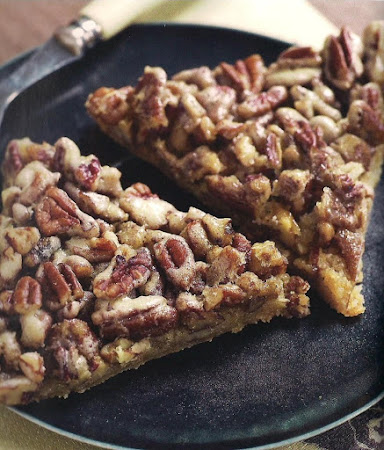 Pecan bars from The Fat Witch Bakery Recipe