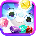 Jewel Classic - Best Diamond King Match 3 Puzzle icon