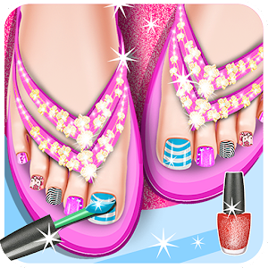 Toe Nail Salon for PC and MAC