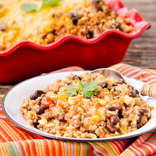 Pressure Cooker Mexican Beef Rice.