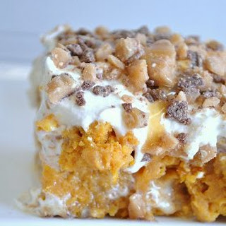 Better than Pumpkin Pie Poke Cake