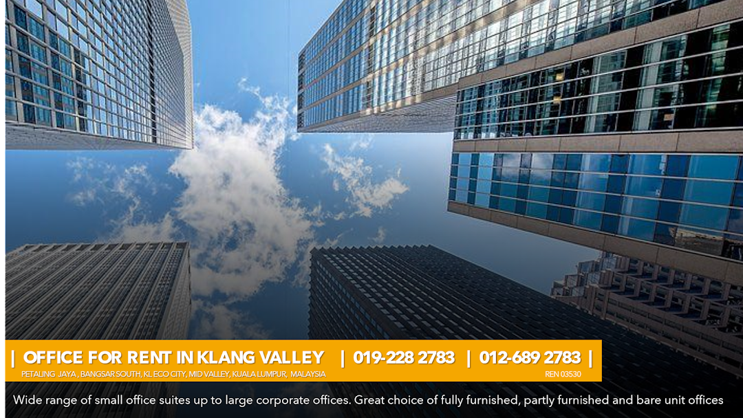 Offices For Rent Looking Office Space For Rent In Petaling Jaya Bangsar South Kl Eco City Mid Valley Kl Sentral Kl City Please Call Or Whatsapp Below