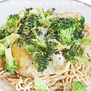 Clean Eating Dinner Idea – Cheesy Broccoli & Chicken Broil