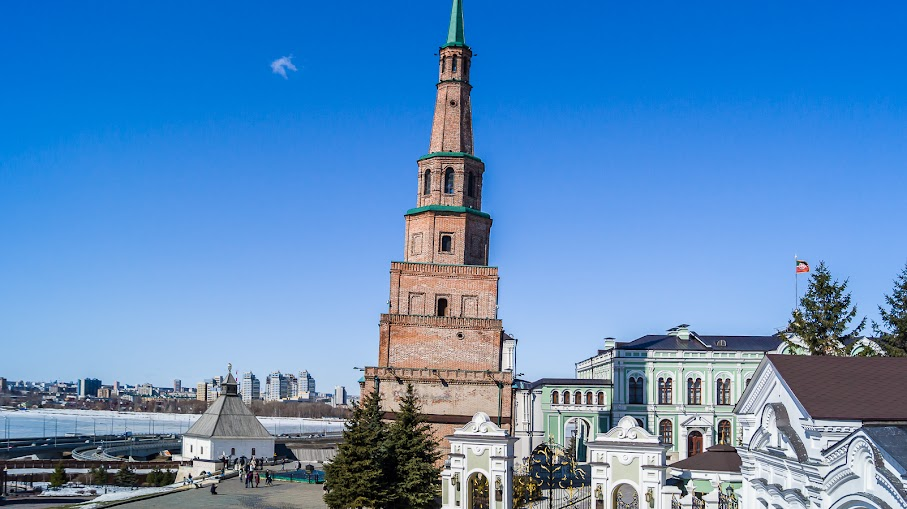 Город луж и ветров. Казань, 7-10 апреля 2018
