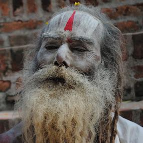 Holy Saint by Pramesh Pokharel - People Portraits of Men (  )