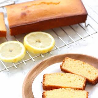 Gluten-free Lemon Yogurt Cake.