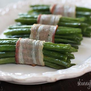 Bacon Wrapped Green Bean Bundles.