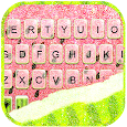 Glitter Watermelon Keyboard Background