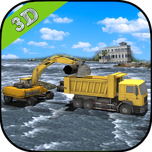 Heavy Excavator – Flood Rescue for PC and MAC
