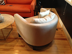 Photo: $150. West Elm tub chair, see other pics for damaged areas.