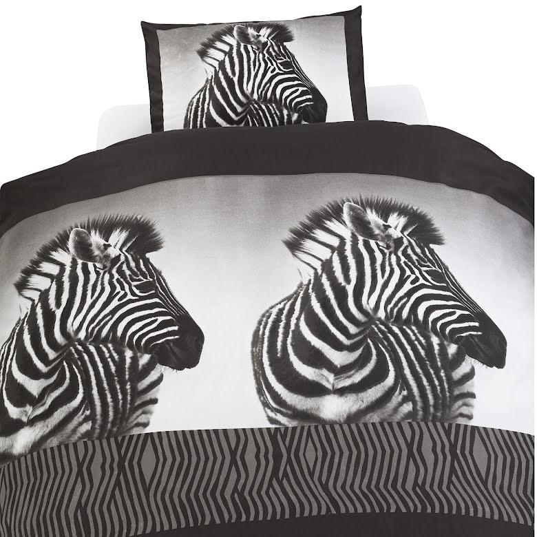 Påslakanset Zebra 150x210