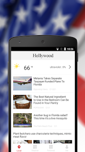 Hollywood Weather &Local News - náhled