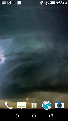 Storm Video Live Wallpaper