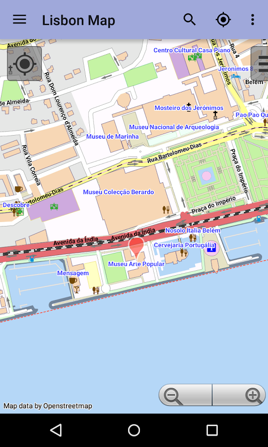 Lisbon Offline City Map Android Apps On Google Play - lisbon map